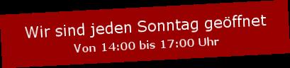 Einstein Mode Roermond ist jede Sonntag geöffnet